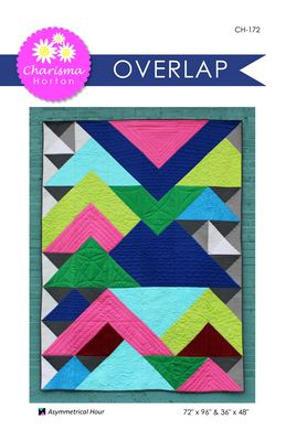 Overlap quilt pattern by Charisma Horton