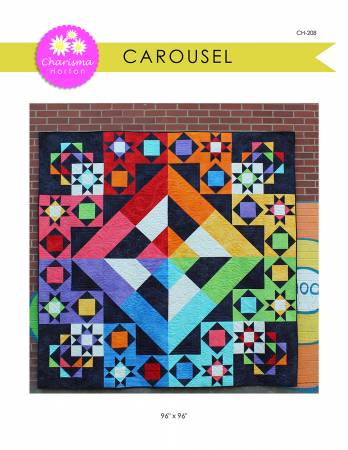 Carousel quilt pattern by Charisma Horton
