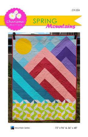 Spring Mountains quilt pattern by Charisma Horton