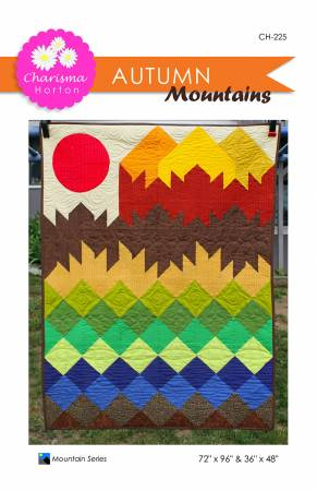 Autumn Mountains quilt pattern by Charisma Horton