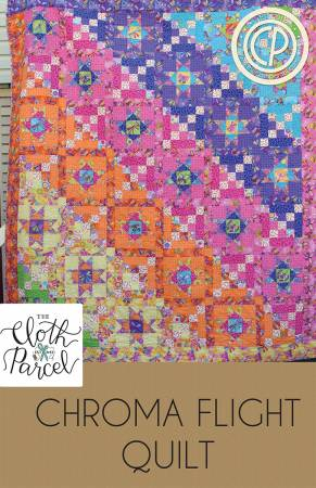 Chroma Flight Quilt pattern by Diane Brinton and Audrey Mann