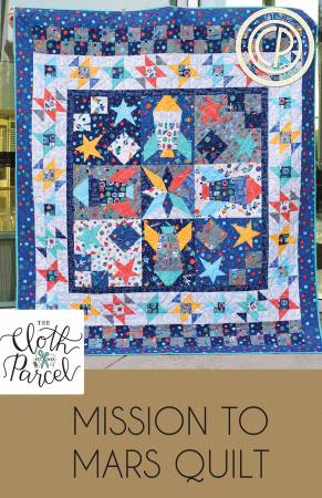 Mission to Mars quilt pattern by Audrey Mann