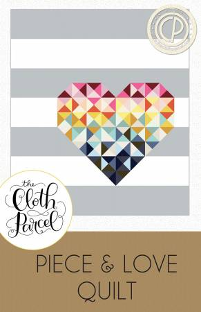 Piece & Love quilt pattern by Audrey Mann