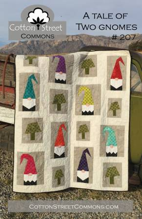 A Tale of Two Gnomes quilt pattern by Marcea Owen