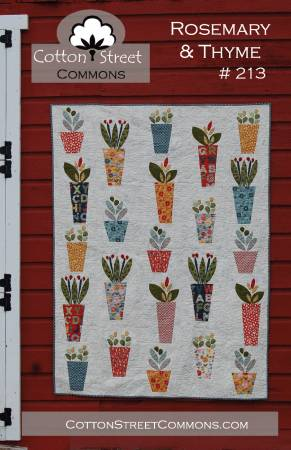 Rosemary And Thyme quilt pattern by Marcea Owen