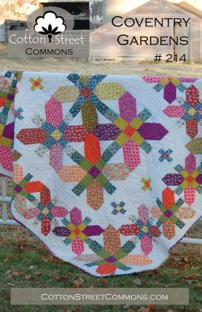 Coventry Garden quilt pattern by Marcea Owen