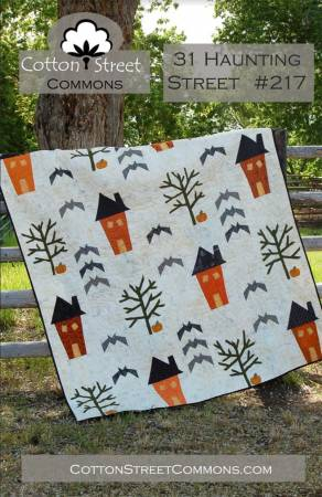 31 Haunting Square quilt pattern by Marcea Owen