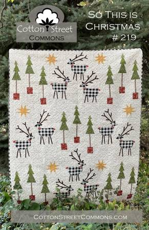 So This Is Christmas quilt pattern by Marcea Owen