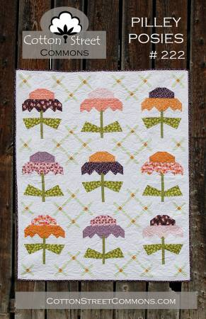 Pilley Posies quilt pattern by Marcea Owen