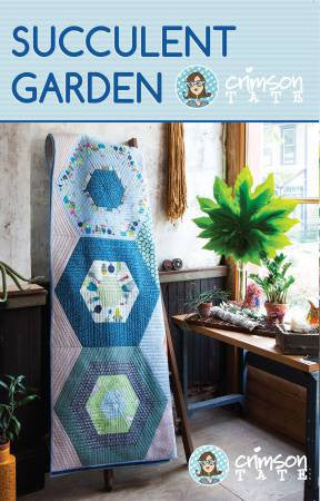 Succulent Garden quilt pattern by Heather Givens