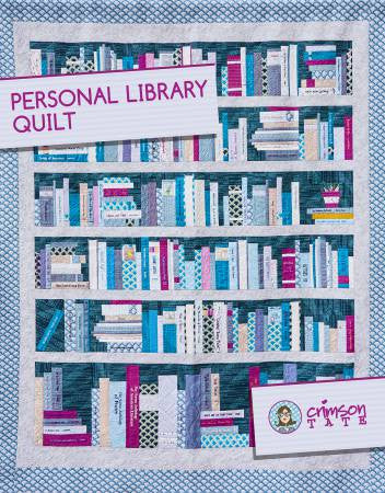 Personal Library Quilt by Heather Givans