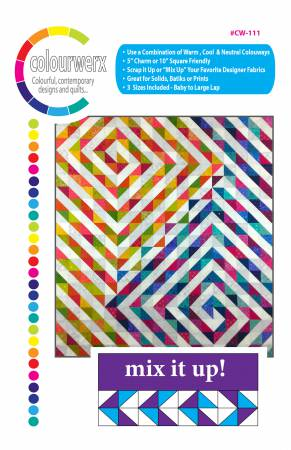 Mix It Up quilt pattern by Linda & Carl Sullivan