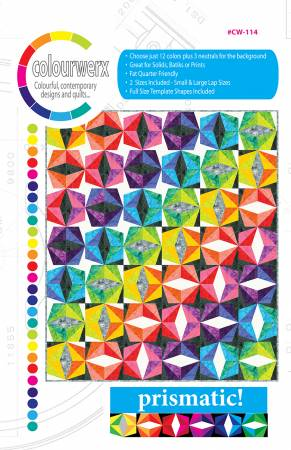 Prismatic quilt pattern by Linda & Carl Sullivan