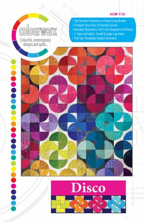 Disco quilt pattern by Linda & Carl Sullivan
