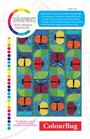 ColourBug quilt pattern