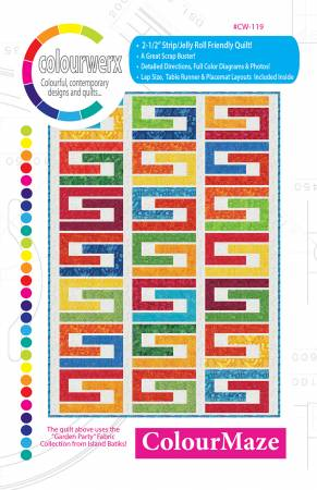 ColourMaze quilt pattern