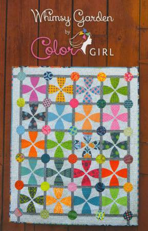 Whimsy Garden quilt pattern by Sharon McConnell