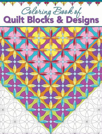 Coloring Book of Quilt Blocks and Designs - The Quilter's Bazaar