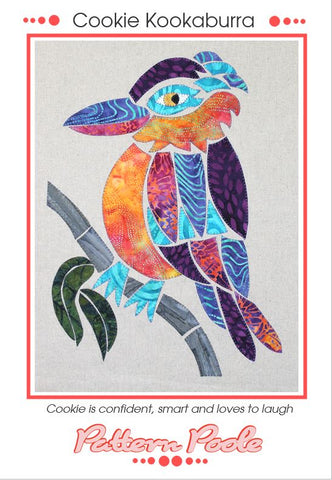 Cookie Kookaburra quilt pattern by Monica & Alaura Poole