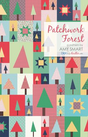 Patchwork Forest quilt pattern by Amy Smart