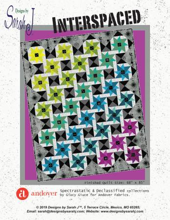 Interspaced quilt pattern by Sarah J