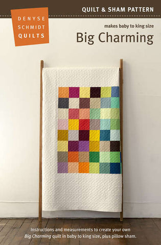 Big Charming quilt pattern by Denyse Schmidt