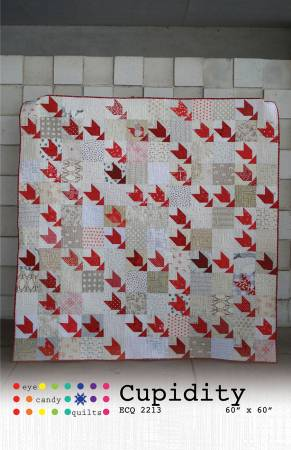 Cupidity quilt pattern by Eye Candy Quilts