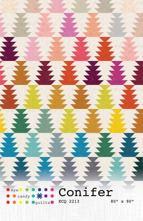 Conifer quilt pattern by Eye Candy Quilts
