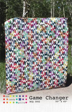 Game Changer quilt pattern by Eye Candy Quilts