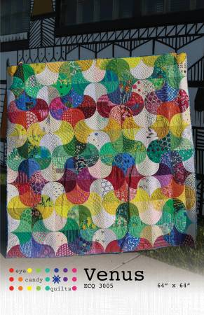 Venus quilt pattern by Eye Candy Quilts