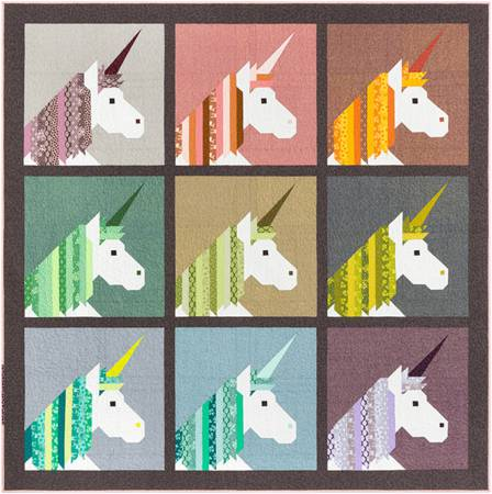 Lisa The Unicorn by Elizabeth Hartman - The Quilter's Bazaar