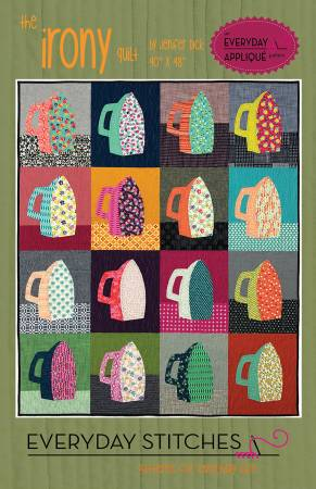 Irony quilt pattern by Everyday Stitches