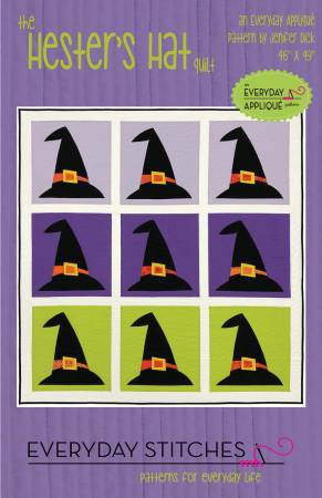 Hester's Hat quilt pattern