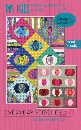 Pin Pals quilt pattern by Everyday Stitches