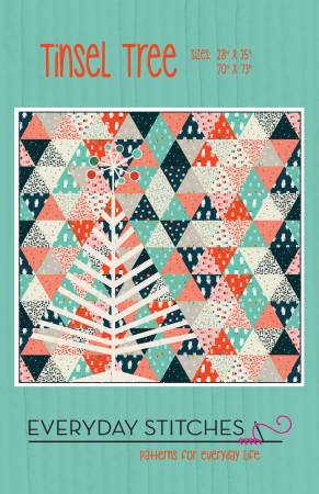 Tinsel Tree quilt pattern