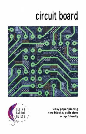 Circuit Board quilt pattern by Sylvia Schaefer