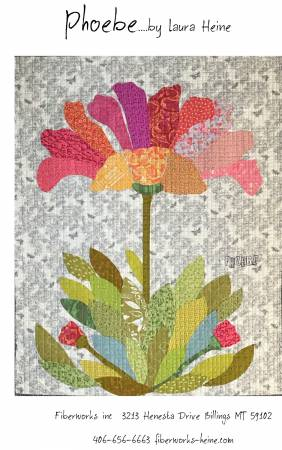 Phoebe Applique Flower quilt pattern by Laura Heine