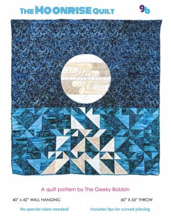 Moonrise quilt pattern by Bobbie Gentili