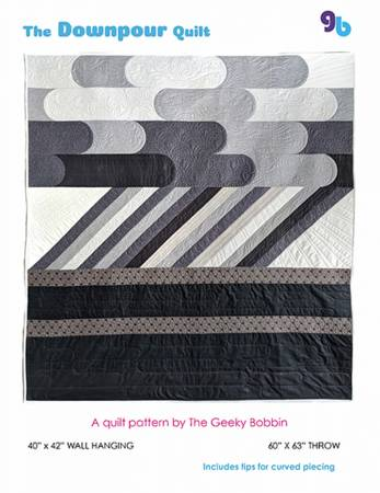 The Downpour Quilt pattern by Bobbie Gentili