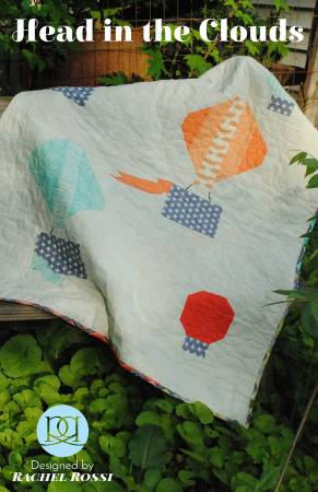 Head in the Clouds quilt pattern by Rachel Rossi