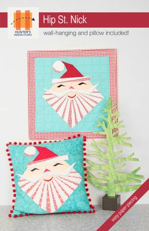 Hip St. Nick quilt pattern by Sam Hunter