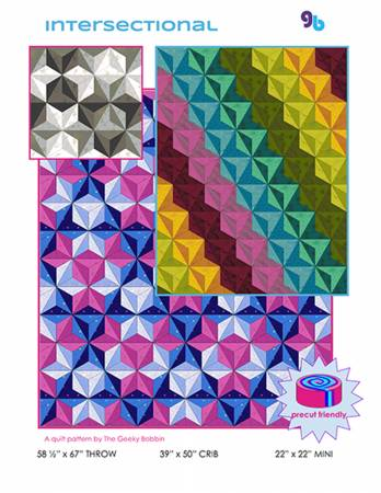 Intersectional quilt pattern by Bobbie Gentili