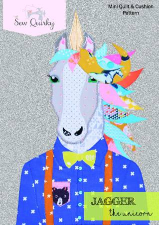 Jagger the Unicorn quilt pattern by Mandy Murray