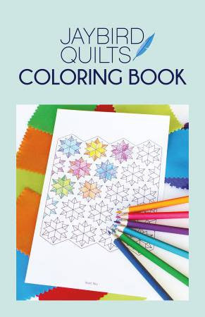 Jaybird Quilts Coloring Book - The Quilter's Bazaar
