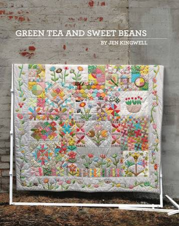 Green Tea & Sweet Beans quilt booklet by Jen Kingwell