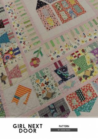 Girl Next Door quilt pattern by Louise Papas