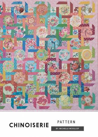 Chinoiserie quilt pattern by Michelle McKillop