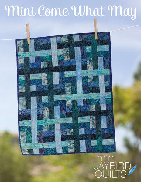 Mini Come What May quilt pattern by Julie Herman