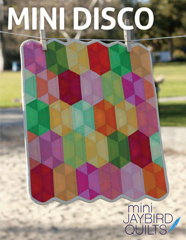Mini Disco quilt pattern by Julie Herman