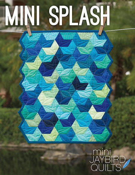 Mini Splash quilt pattern by Julie Herman